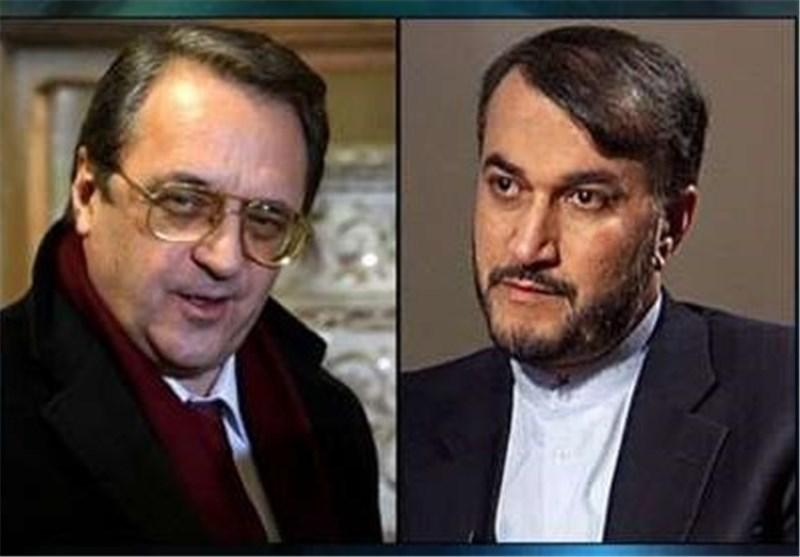 Iran, Russia Stress Political Resolution of Crises in Syria, Yemen