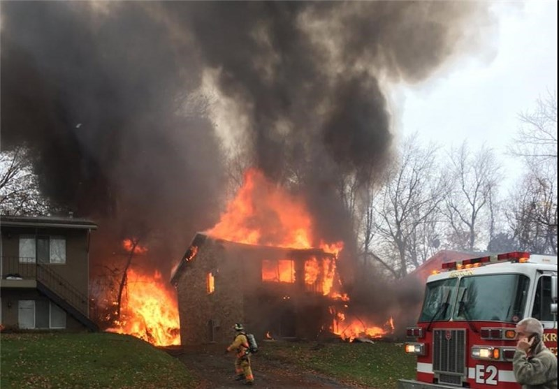 Nine Dead after Small Plane Crashes into Ohio House