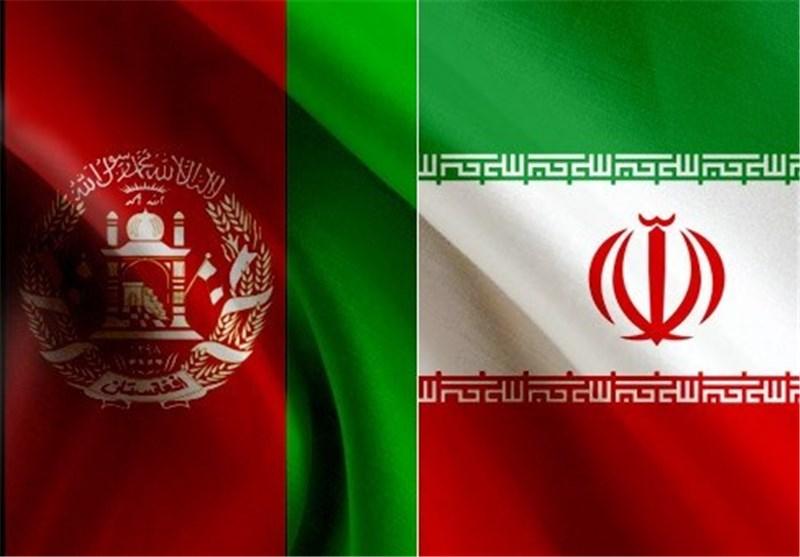 پرچم ایران و افغانستان
