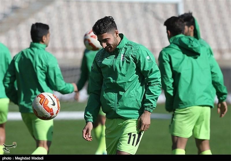 علیرضا جهانبخش، تمرین تیم ملی فوتبال