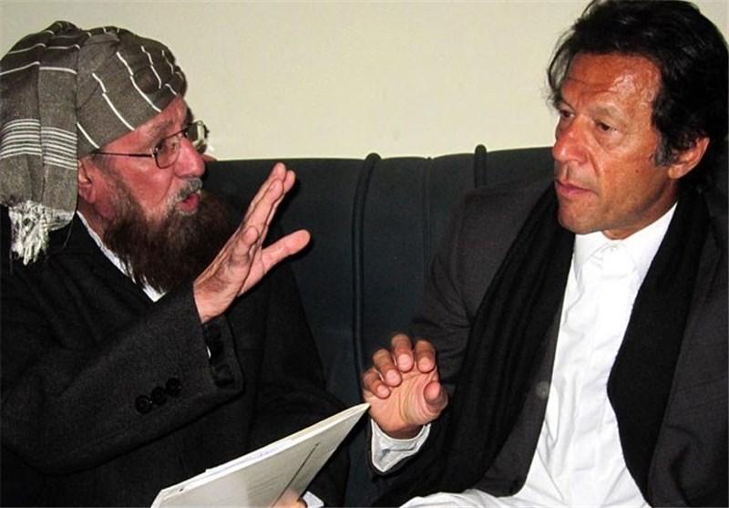 عمران خان و سمیع الحق
