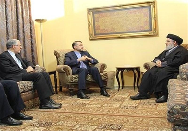 Hezbollah Leader, Iran's Deputy FM Meet in Beirut