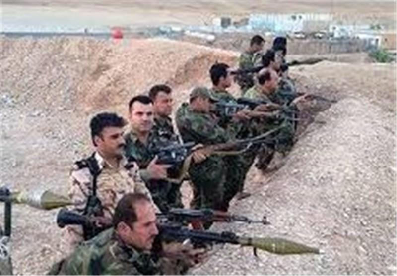"""البیشمرکة العراقیة تخترق خطوط صد """"داعش"""" غرب سنجار"""