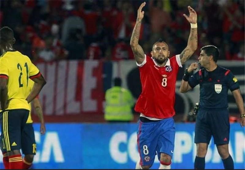 شیلی و کلمبیا