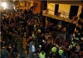 بالصور.. الارهاب التکفیری یستهدف الآمنین فی منطقة مکتظة بالسکان فی بیروت
