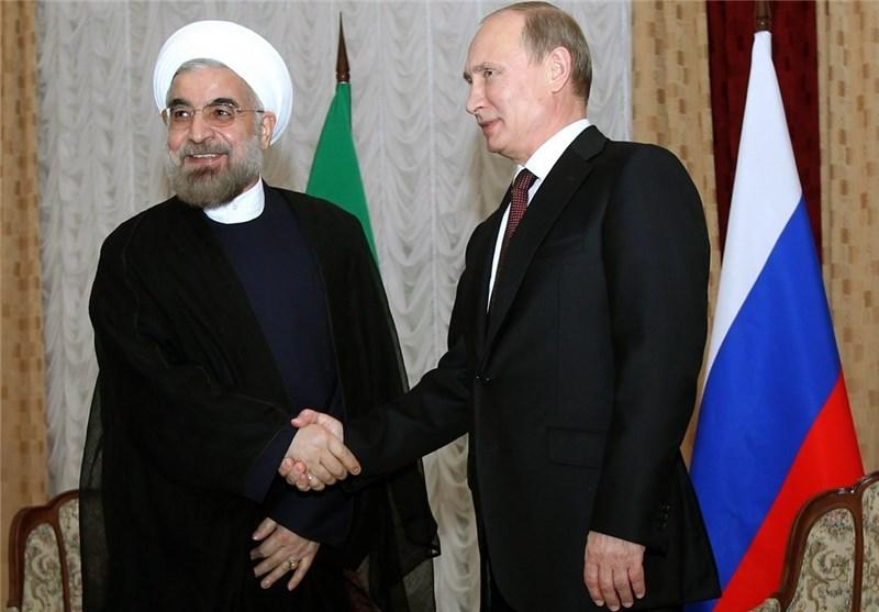 روحانی یهنىء بوتین بإعادة انتخابه رئیسا لروسیا