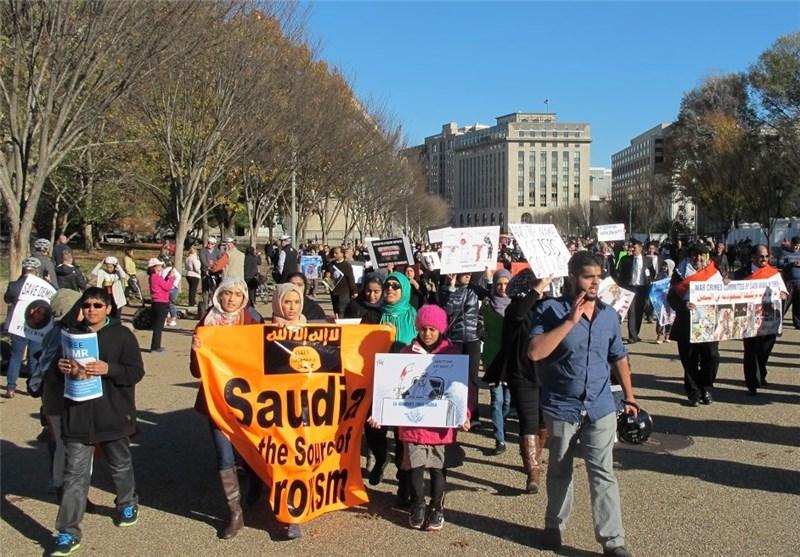 Protests Held in Washington to Condemn Saudi Policies