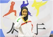 Iran's Zohreh Barzegar Wins Gold at World Junior, Cadet & U-21 Karate Championships