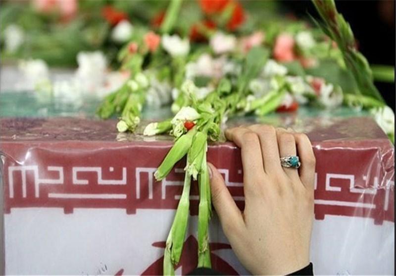 وداع با پیکر 2 شهید مدافع حرم افغانستانی در حرم سیدالکریم