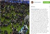 مطلب اینستاگرامی بعیدی نژاد درباره حادثه تروریستی پاریس+عکس