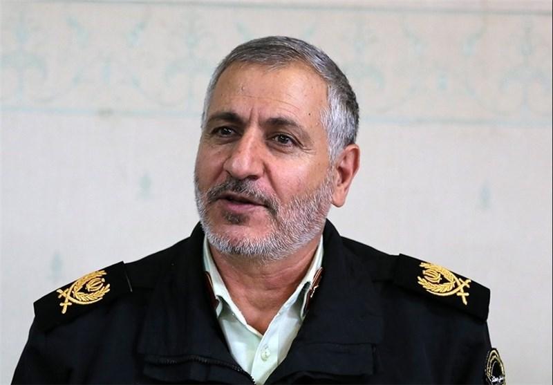 سردار گودرزی فرمانده انتظامی استان فارس