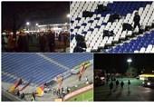 قنبلة فی ملعب هانوفر تلغی مباراة لکرة القدم بین ألمانیا وهولندا