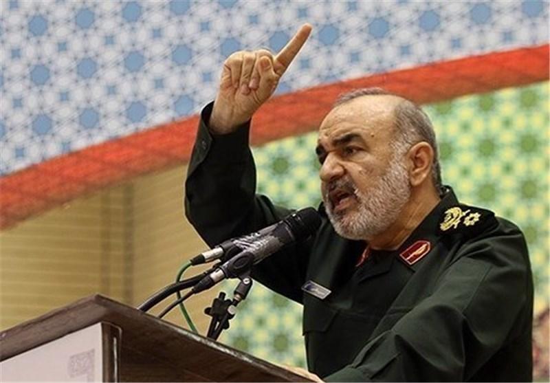 نائب قائد الحرس الثوری : اقتدار ایران الاسلامیة ونفوذها بالمنطقة یتزاید باستمرار