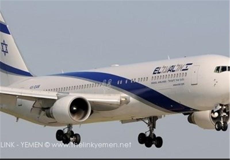 طائرة «اسرائیلیة» تنقل اسلحة وذخائر لمطار العند فی لحج!!