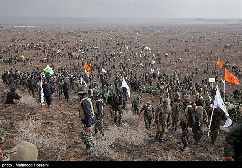 Basij Forces Launch Large-Scale Drills in Iran