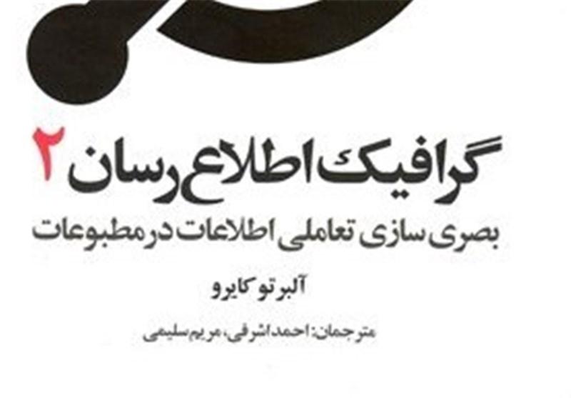 """کتاب"""" گرافیک اطلاع رسان 2"""" منتشر شد"""
