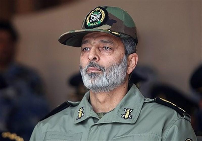 مراسم ترحیم والده فرمانده ارتش برگزار شد + عکس