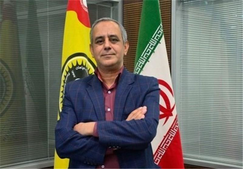 باقریان مدیرعامل باشگاه سپاهان اصفهان
