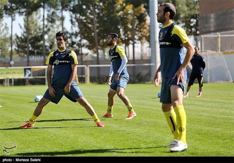 علی احمدی، تمرین سپاهان