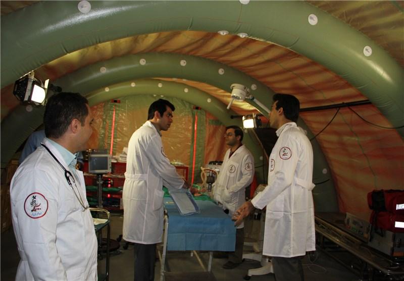 بیمارستان صحرایی بسیج پزشکی لرستان در دوره چگنی برپا میشود