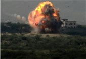 Yemeni Anti-Armored Rocket Destroys Saudi Tank in Najran