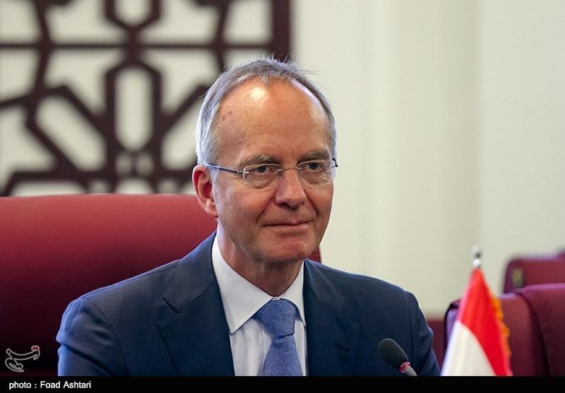 دیدار وزرای اقتصاد ایران و هلند