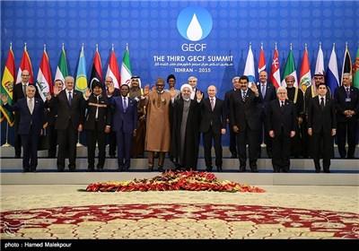 سومین اجلاس سران مجمع کشورهای صادرکننده گاز (GECF)