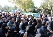 تشییع پیکر شهید مدافع حرم سیدحسین هاشمی در حرم حضرت عبدالعظیم(ع)