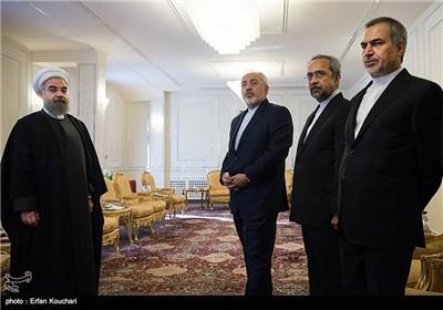 دیدار رئیس جمهور نیجریه و نخست وزیر الجزیر با حسن روحانی