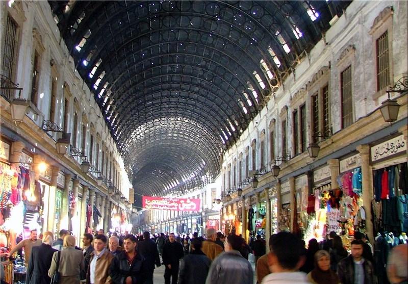 """سوق """"الحمیدیة"""" مقصد یومی لسکان دمشق وأحد المعالم الأثریة الخالدة + صور"""