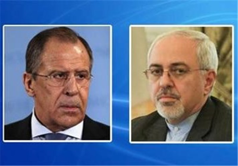 ظریف ولافروف یتحادثان هاتفیا حول سوریا