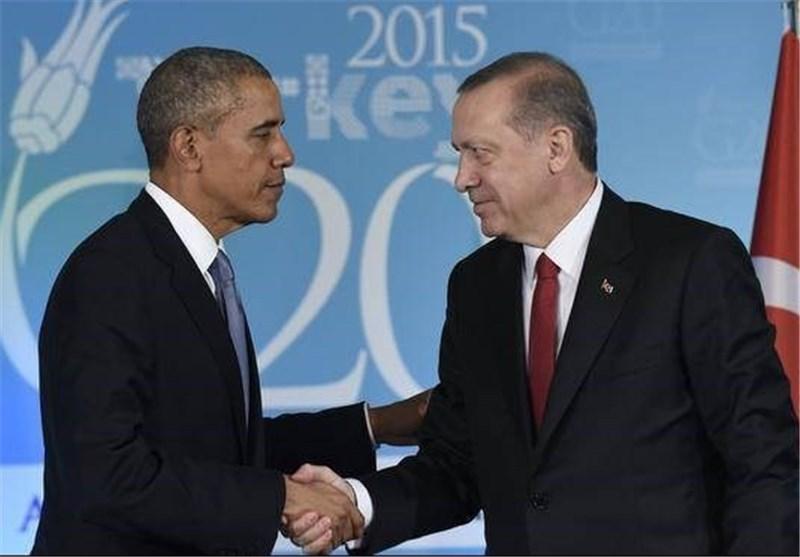 موقع هابردیم: اوباما اعطى اردوغان الضوء الاخضر لاسقاط مقاتلات روسیة