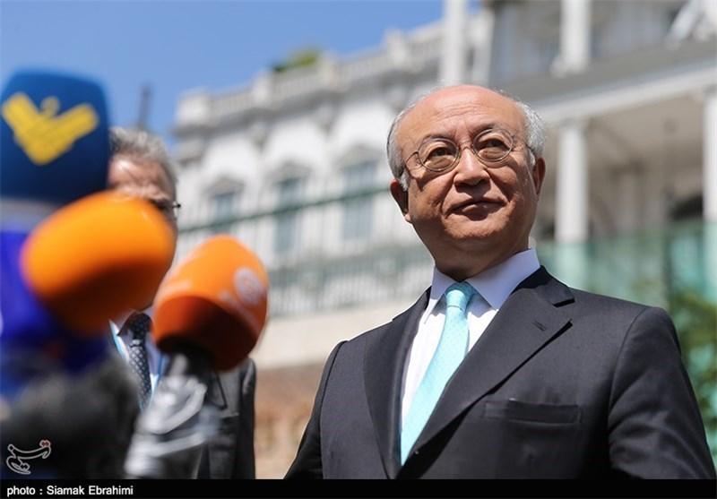 آمانو یؤکد من جدید التزام إیران بتنفیذ الاتفاق النووی