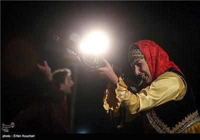 نمایش خیابانی پانزدهمین جشنواره تئاتر مقاومت