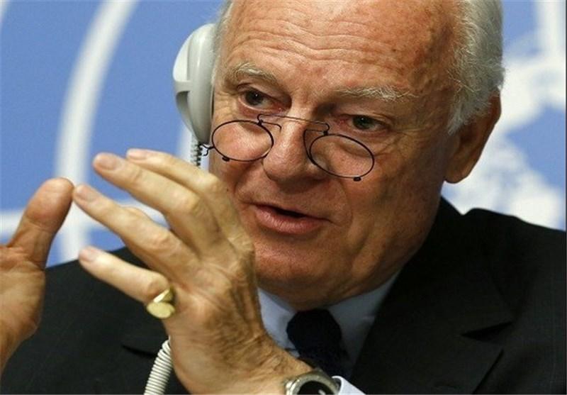 دی میستورا: از سرگیری مذاکرات سوریه به بهبود اوضاع میدانی بستگی دارد