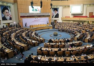 کنفرانس رونمایی از قراردادهای جدید نفتی ایران