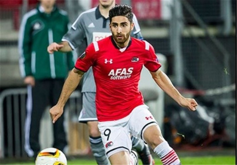 Iran's Jahanbakhsh among 20 Best AFC Players in Europe in November