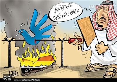 کاریکاتور/ حقوق بشر سر آشپز!