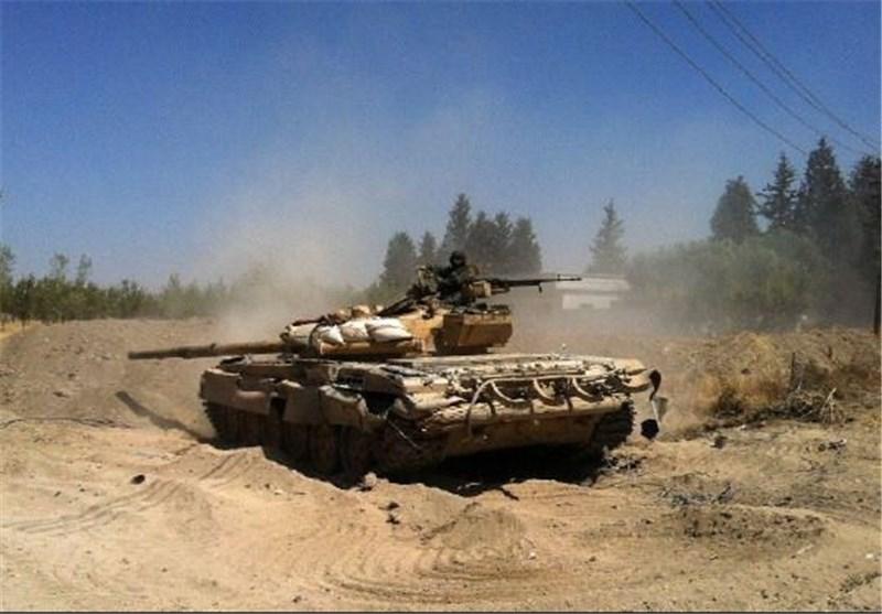 الجیش السوری یتقدم فی درعا ومظاهرات ضد الإرهابیین بریف دمشق