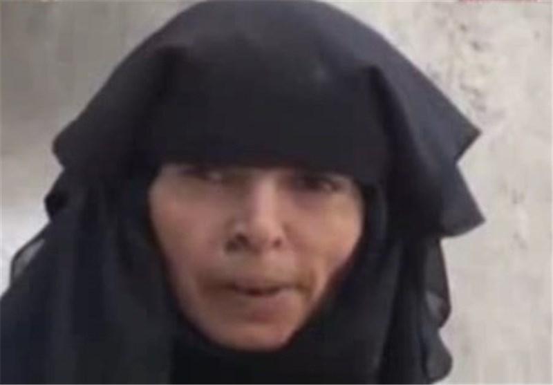 امرأة یمنیة تفقد الذاکرة نتیجة للقصف الهمجی السعودی + فیدیو