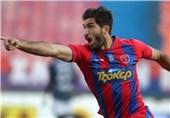 گل انصاریفرد زیباترین گل فصل لیگ یونان شد