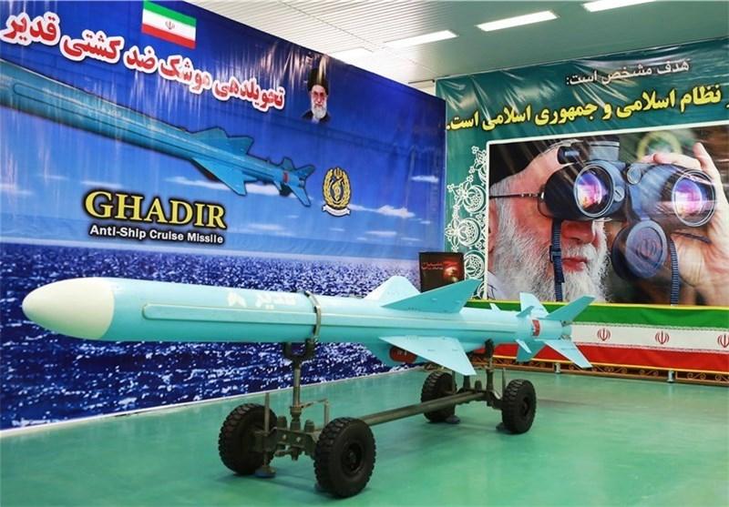 """صاروخ کروز من طراز """"قدیر"""" یدخل نطاقة الخدمة فی القوة البحریة للجیش + خصائص وصور"""