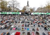 Paris Turned into Sea of Shoes in Protest at Climate Change Demo Ban
