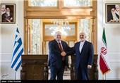 دیدار وزرای خارجه ایران و یونان