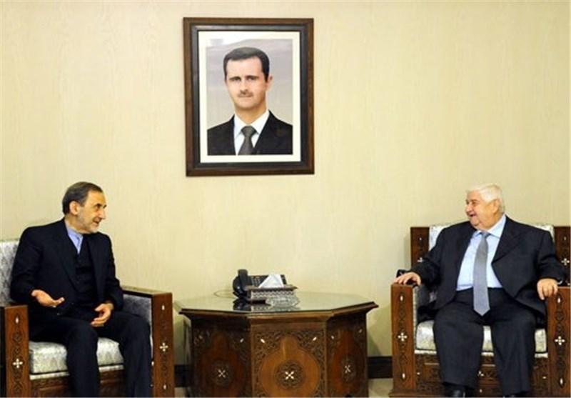 Iran's Velayati, Syria's FM Meet in Damascus