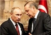 الثالث خلال أسبوع... بوتین وأردوغان یتباحثان هاتفیا الوضع فی حلب