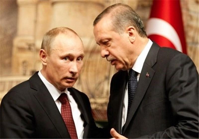 أردوغان یعتذر لبوتین على مقتل الطیار الروسی