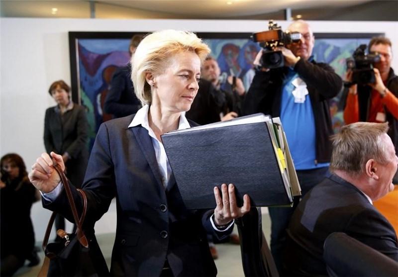 اورزولا فون در لاین وزیر دفاع آلمان