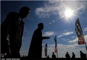 خروج زائران اربعین حسینی از مرز چزابه - خوزستان