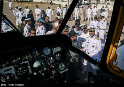 Iran's Navy Receives Optimized Military Gear